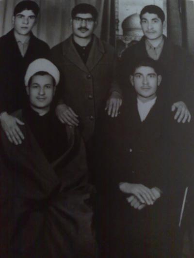 برادران هاشمی رفسنجانی: اکبر،محمود،قاسم، احمد، محمد